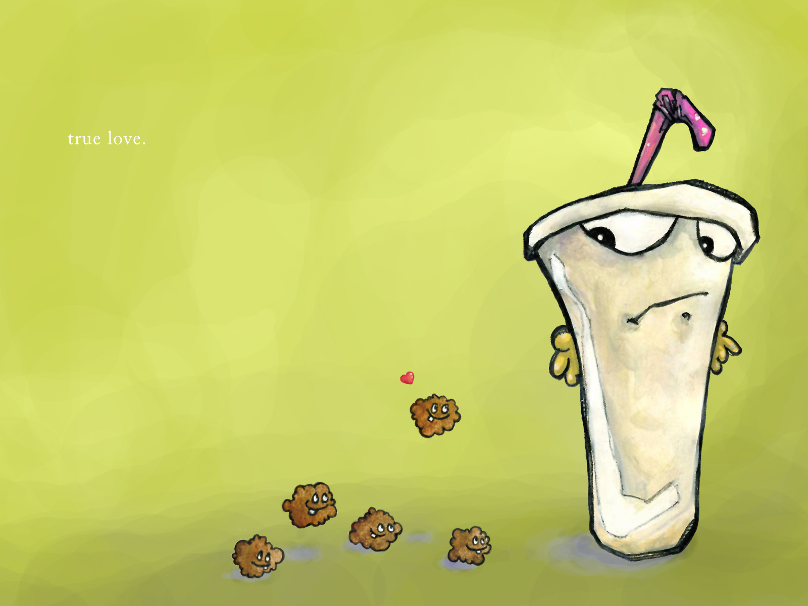 Cartoon - aqua teen hunger force Wallpaper