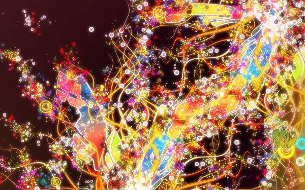 Artistic Vector Neon HD Wallpaper | Background Image