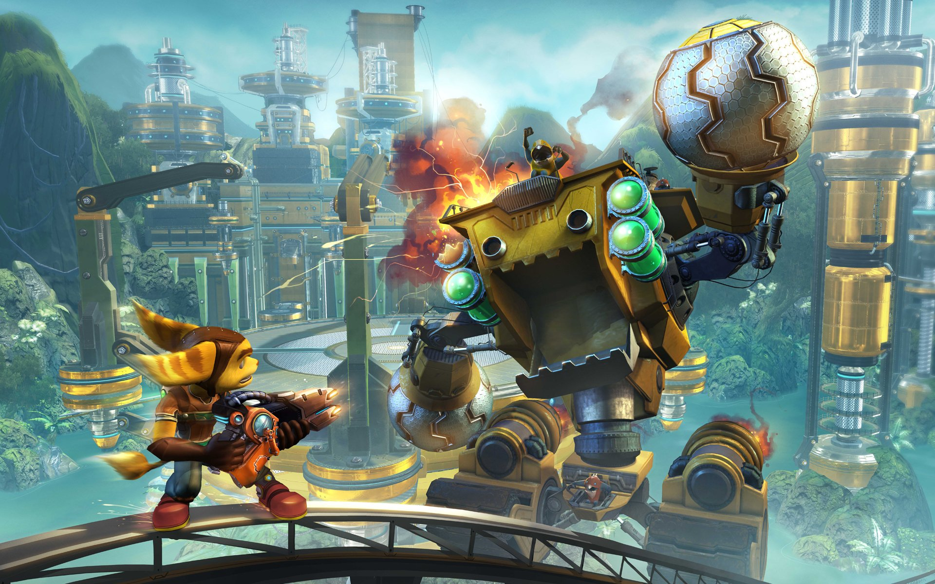 Video Game - ratchet and clank Wallpaper