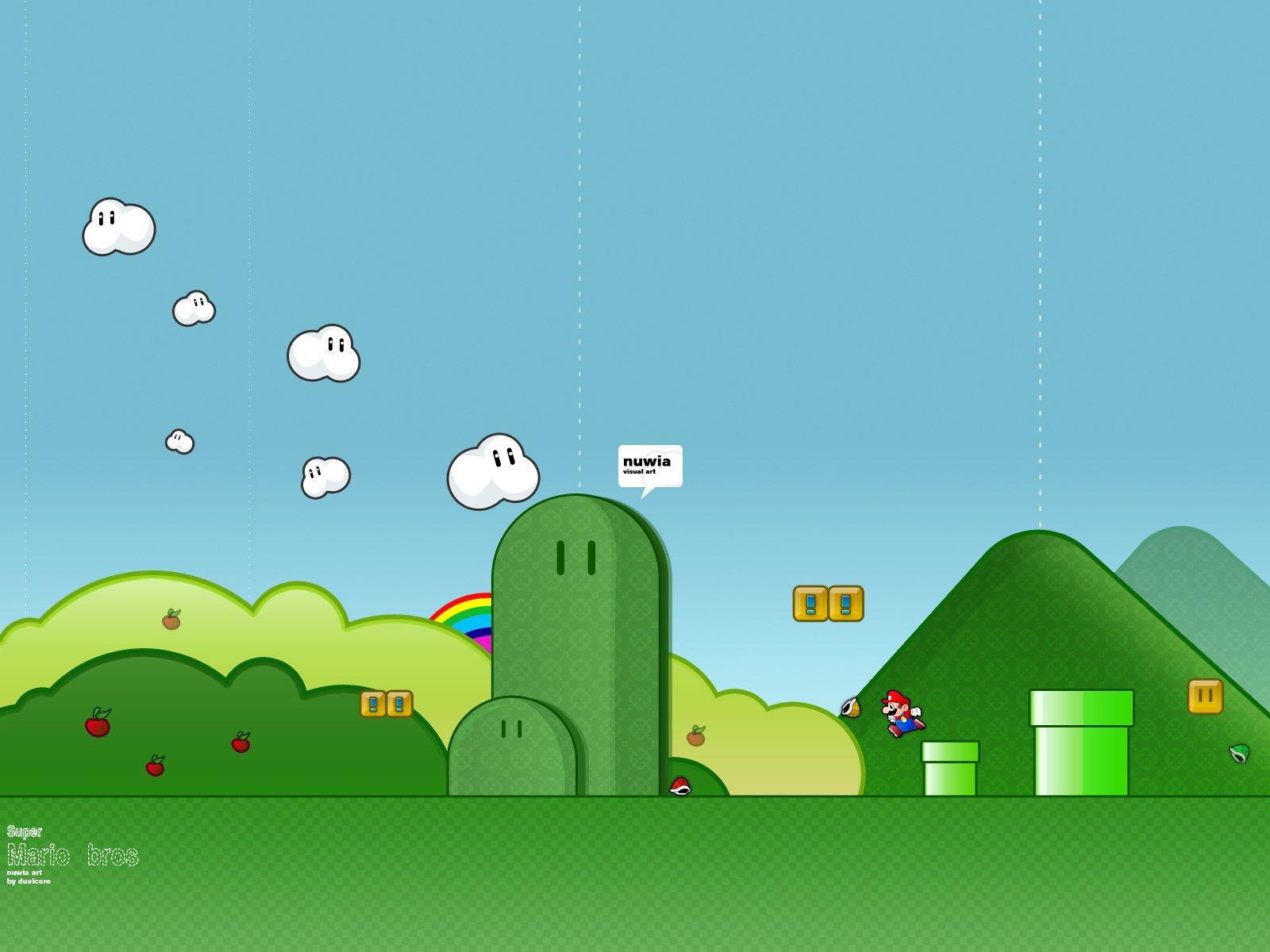 Video Game - Super Mario Bros.  Super Mario Wallpaper
