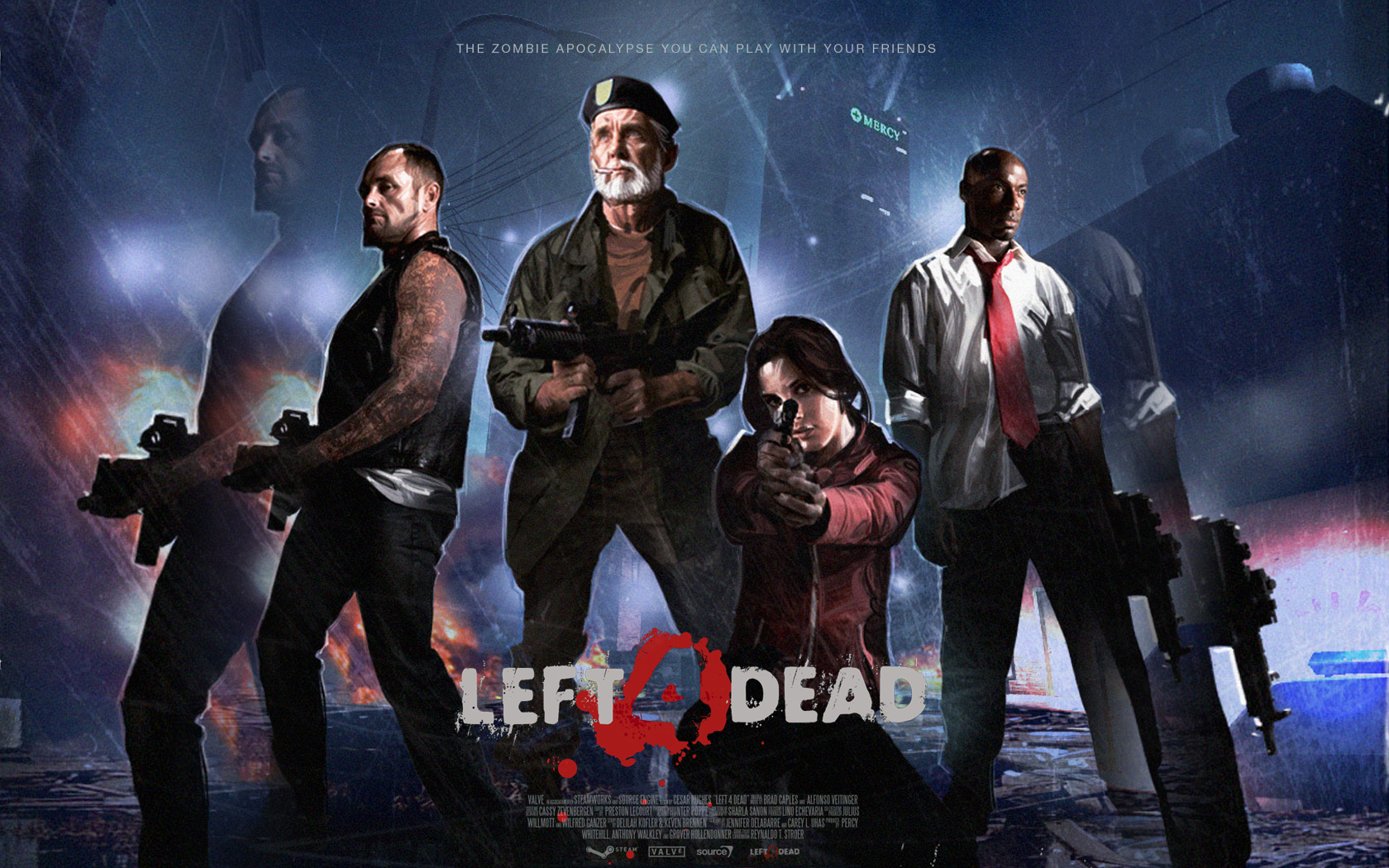 Video Game - Left 4 Dead  Bill Free Wallpaper