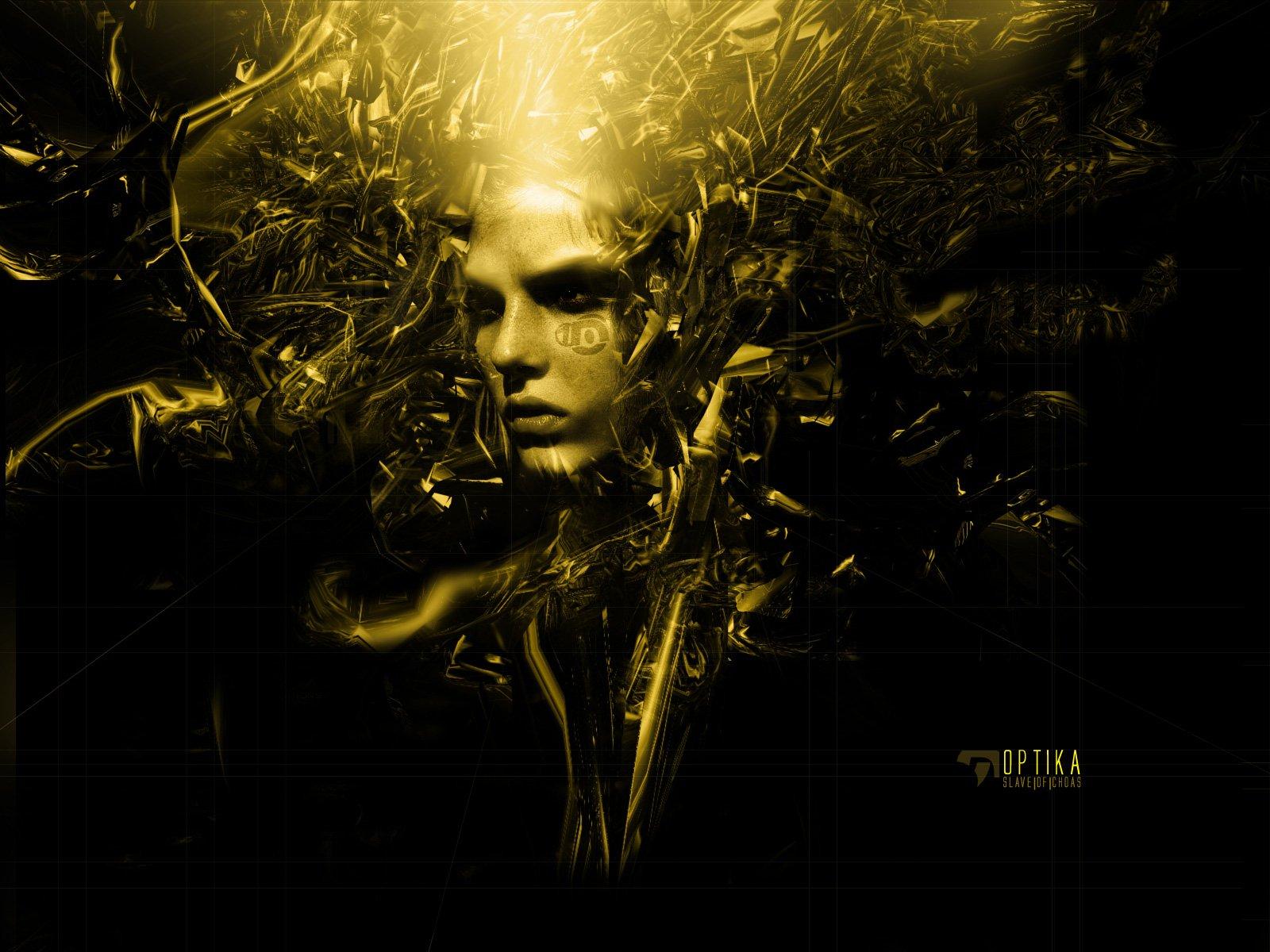 Sci Fi - Cyborg  Woman Wallpaper