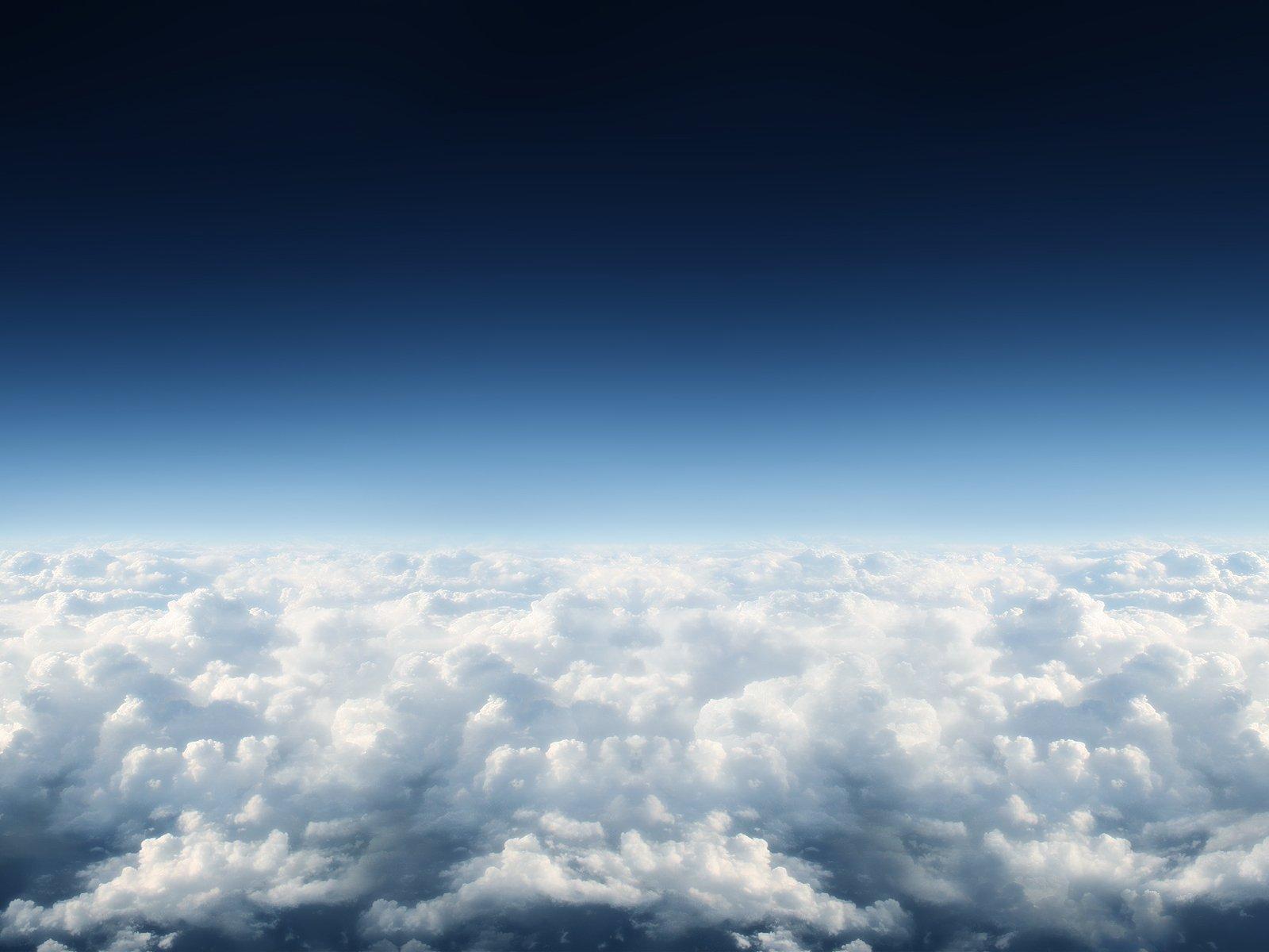 Jorden/Natur - Himmel  Cloud Bakgrund