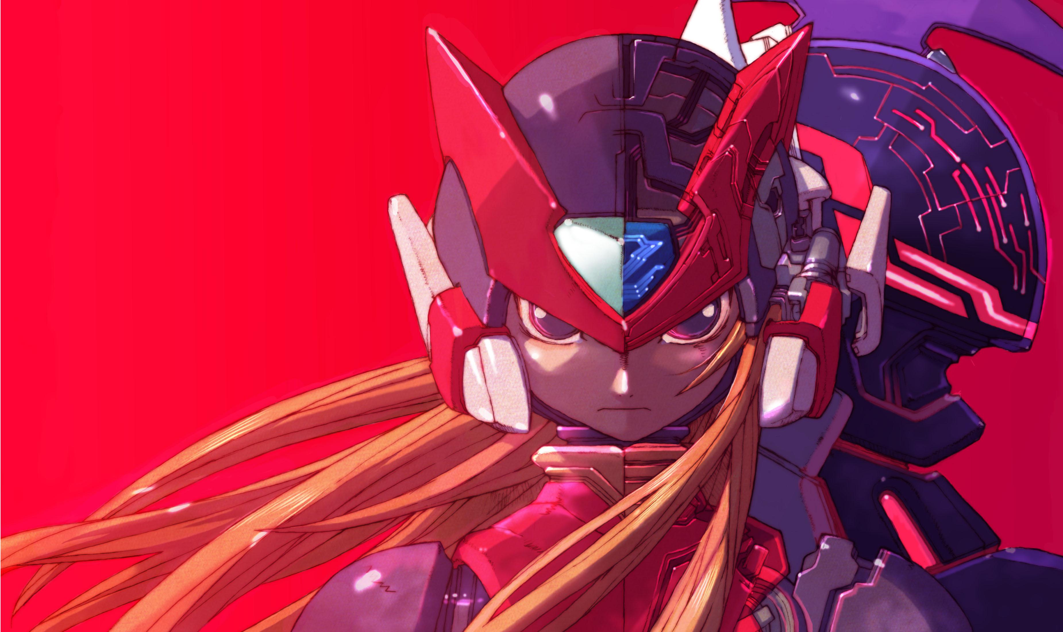 Download 1080P Megaman Wallpaper Background