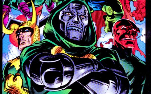 Comics Bring on the Bad Guys: Origins of Marvel Villains Doctor Muerte Fondo de pantalla HD | Fondo de Escritorio