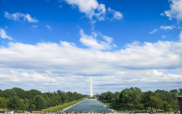 Man Made Washington Monument Monuments Washington Capitol Lincoln Memorial USA United States HD Wallpaper | Background Image