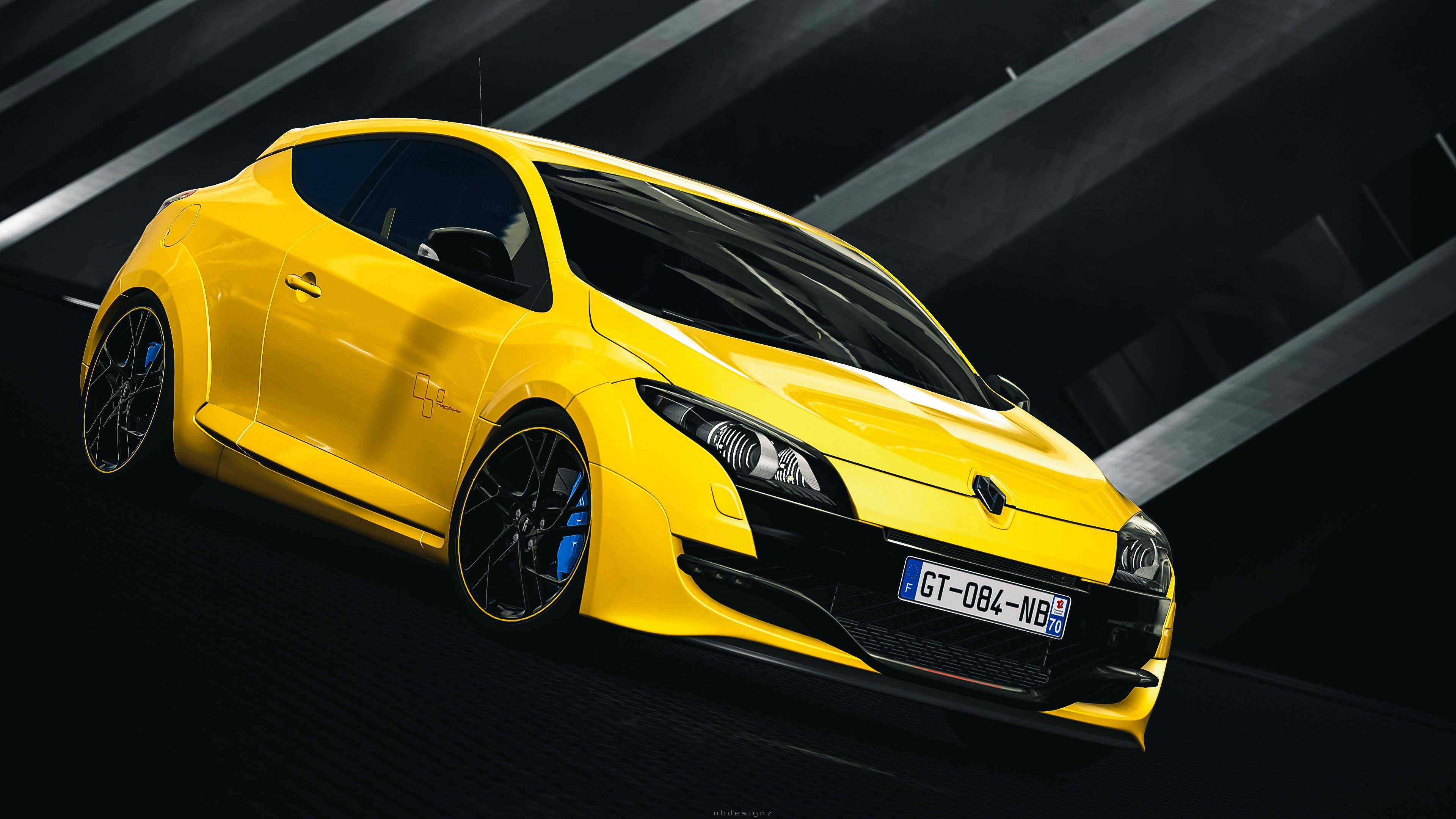 2010 New Megane Renault Sport 3 Wallpaper: Vehicles Renault Megane Renault Sport Vehicle Wallpaper