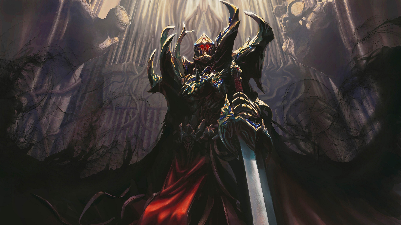 Demon Sword 4k Ultra Hd Wallpaper Background Image 4300x2418