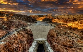 Hoover Dam Hd Wallpaper Background Image 1920x1200