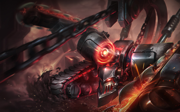 Video Game League Of Legends Chain Chainsaw Skarner HD Wallpaper   Background Image