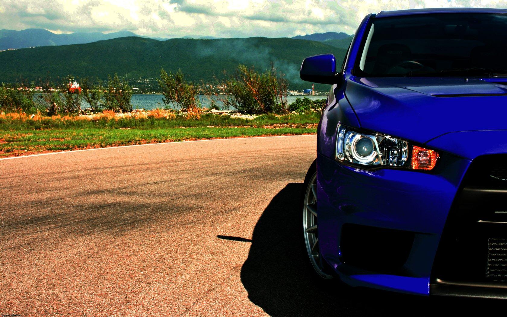 Vehicles - Mitsubishi  Wallpaper