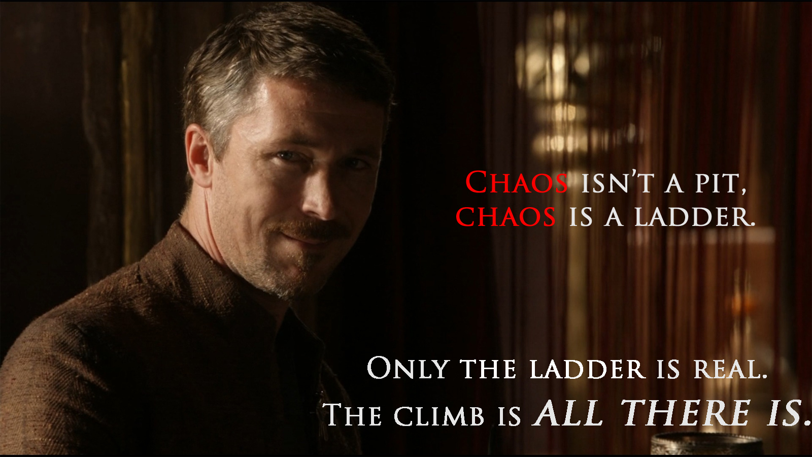 Only The Ladder Is Real Wallpaper And Background Image