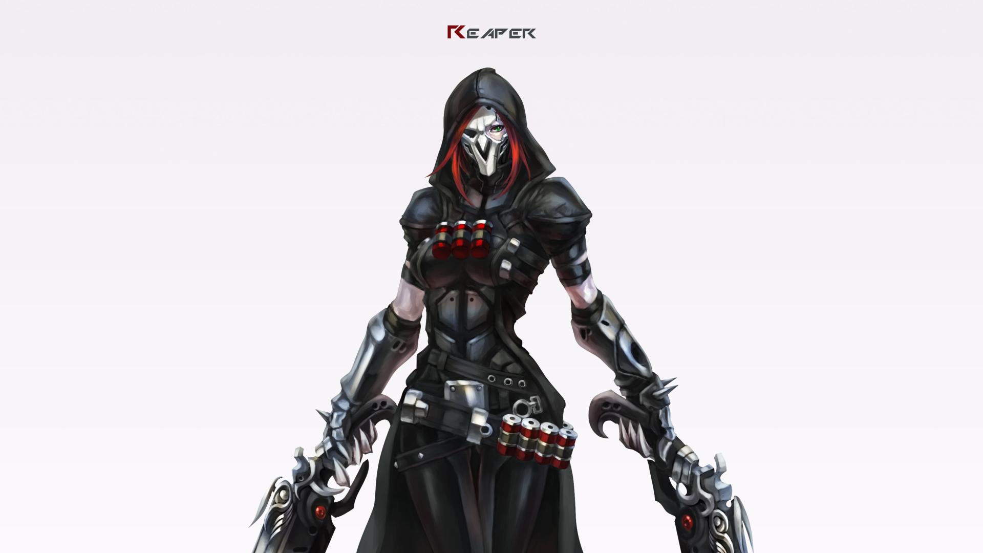Female Reaper HD Wallpaper | Background Image | 3408x1917 ...