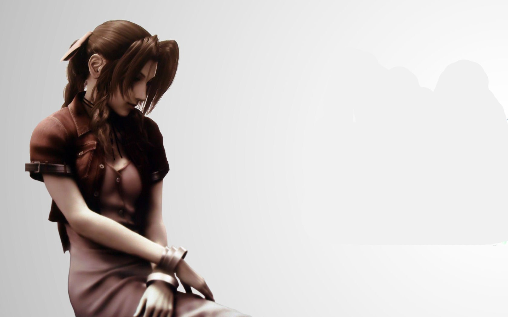 Movie - Final Fantasy VII: Advent Children  Aerith Gainsborough Wallpaper