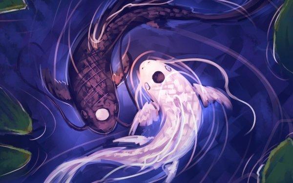 Anime Avatar: The Last Airbender Avatar (Anime) Fish Water Yin & Yang Tui La HD Wallpaper | Background Image