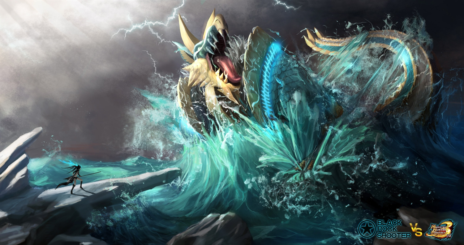 1 lagiacrus monster hunter hd wallpapers backgrounds