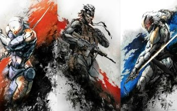 3 Gray Fox Metal Gear Hd Wallpapers Background Images