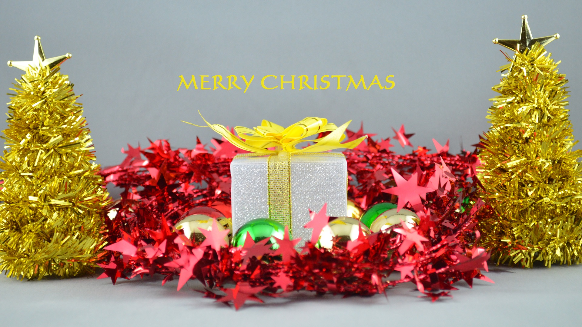 Christmas Decorations Full HD Wallpaper And Background Image