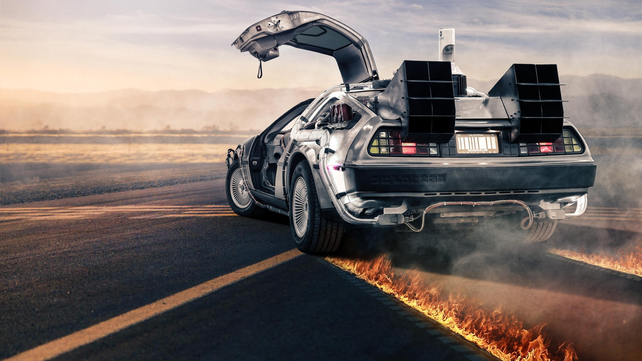 69 Back To The Future Hd Wallpapers Background Images