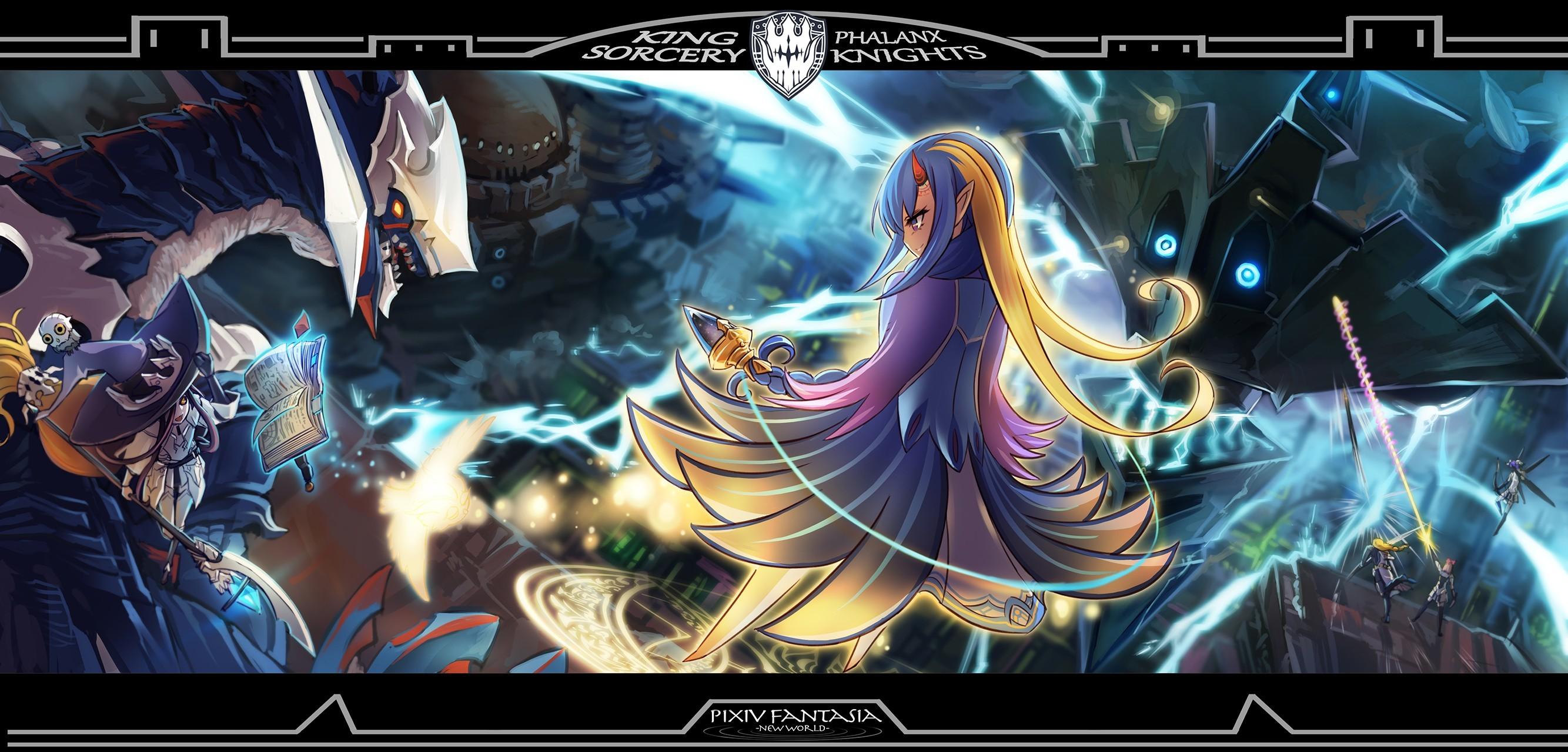 Pixiv Fantasia: New World - Pixiv Fantasia Series - Mobile