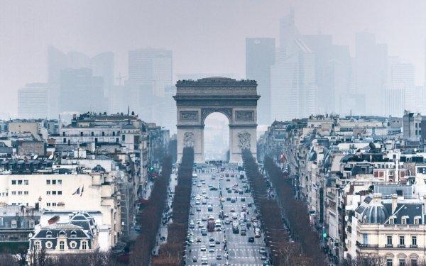 Man Made Arc De Triomphe Monuments Paris France HD Wallpaper | Background Image