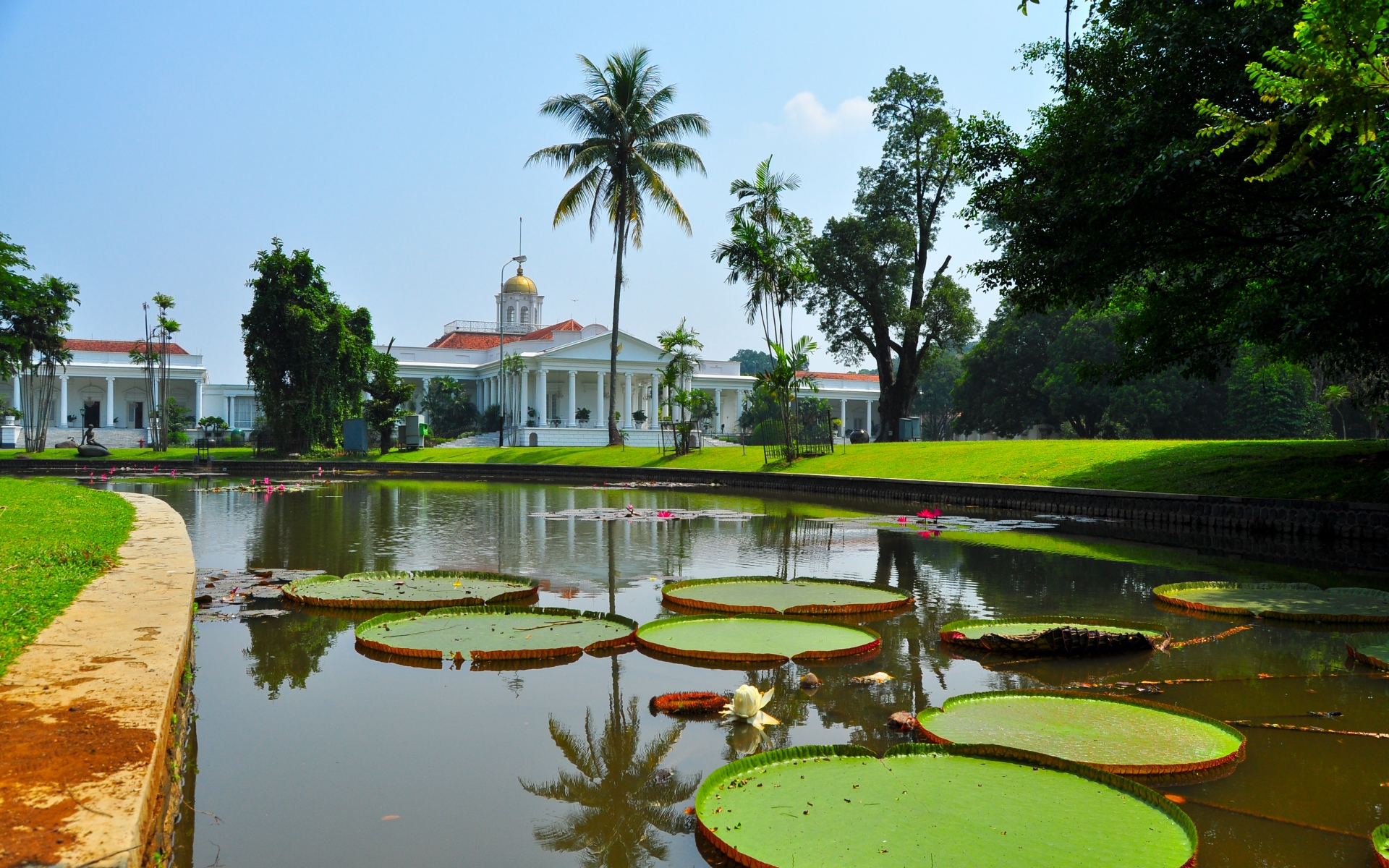 Bogor Indonesia  city images : Bogor Palace Computer Wallpapers, Desktop Backgrounds | 1920x1200 | ID ...