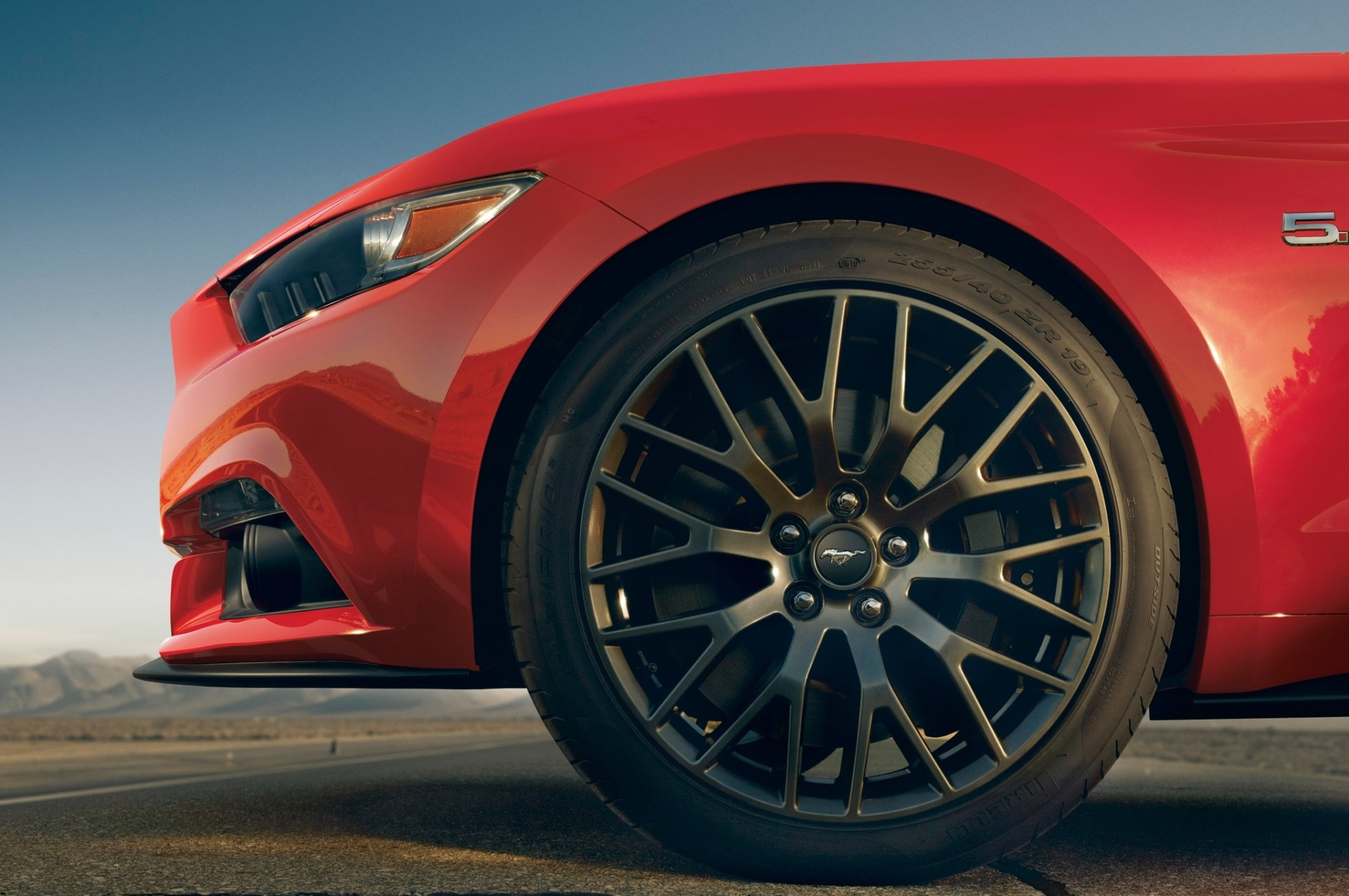 Vehicles - 2015 Ford Mustang GT  Car Ford Wheel Ford Mustang Red Car Wallpaper