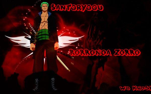 Anime One Piece Roronoa Zoro HD Wallpaper | Background Image