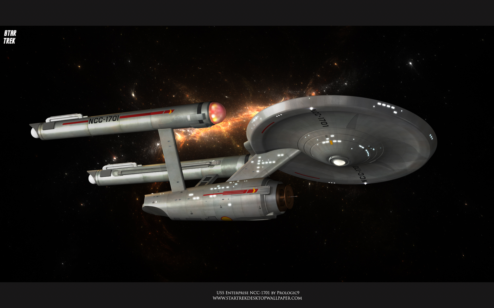USS Enterprise NCC 1701 Full HD Wallpaper And Background