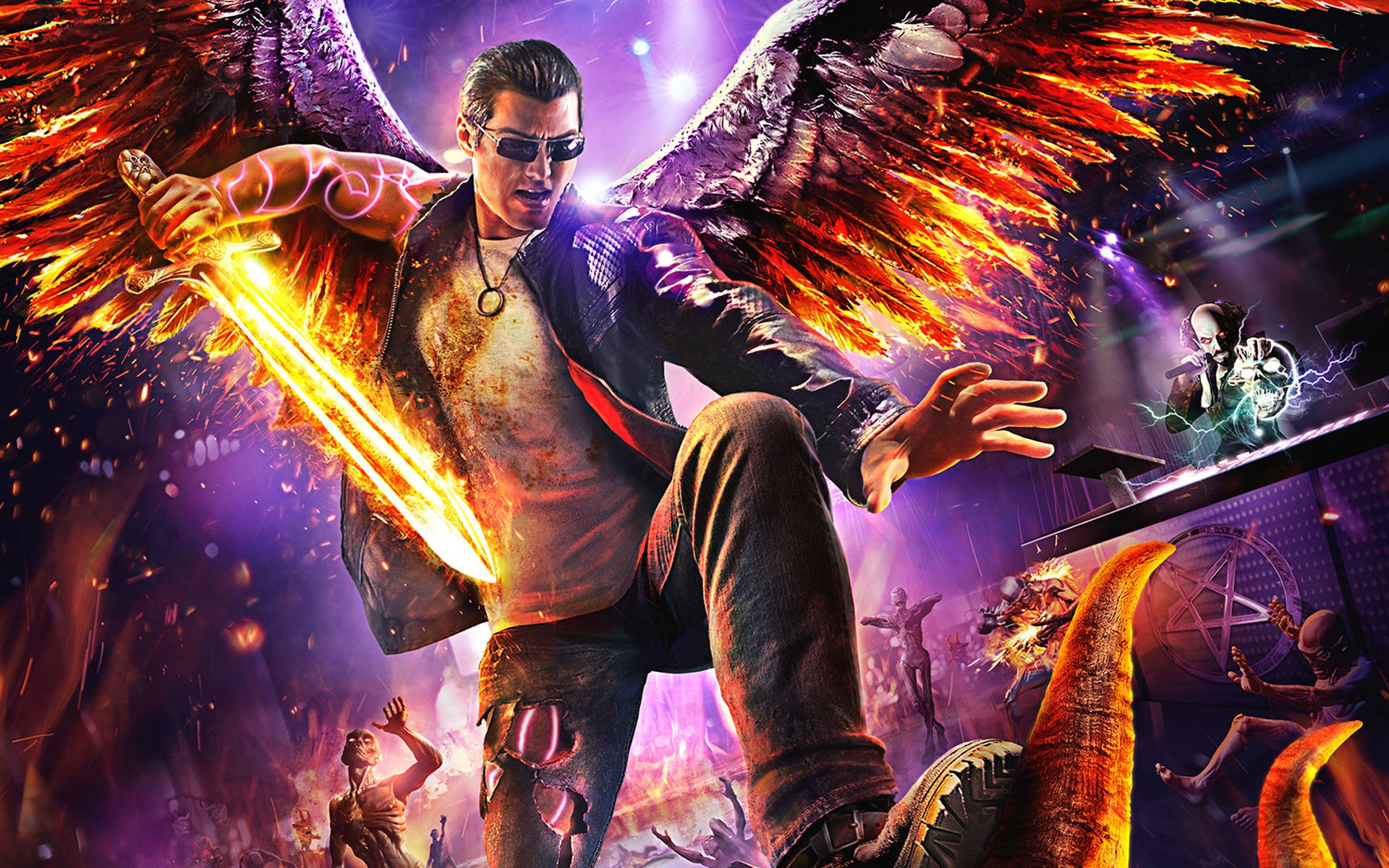 Saints Row 4 Wallpapers: Saints Row: Gat Out Of Hell Full HD Wallpaper And