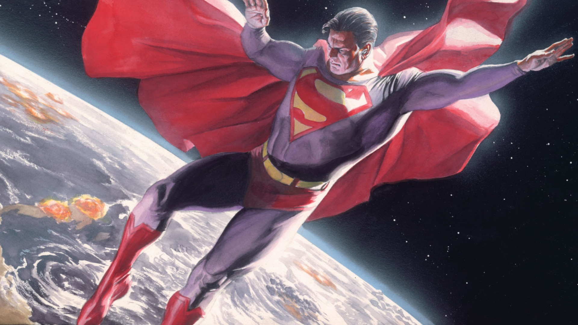 Superman HD Wallpaper | Background Image | 1920x1080 | ID ...
