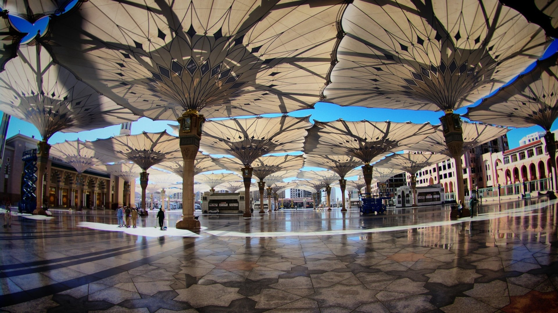 1 Al Masjid Al Nabawi Hd Wallpapers Background Images Wallpaper