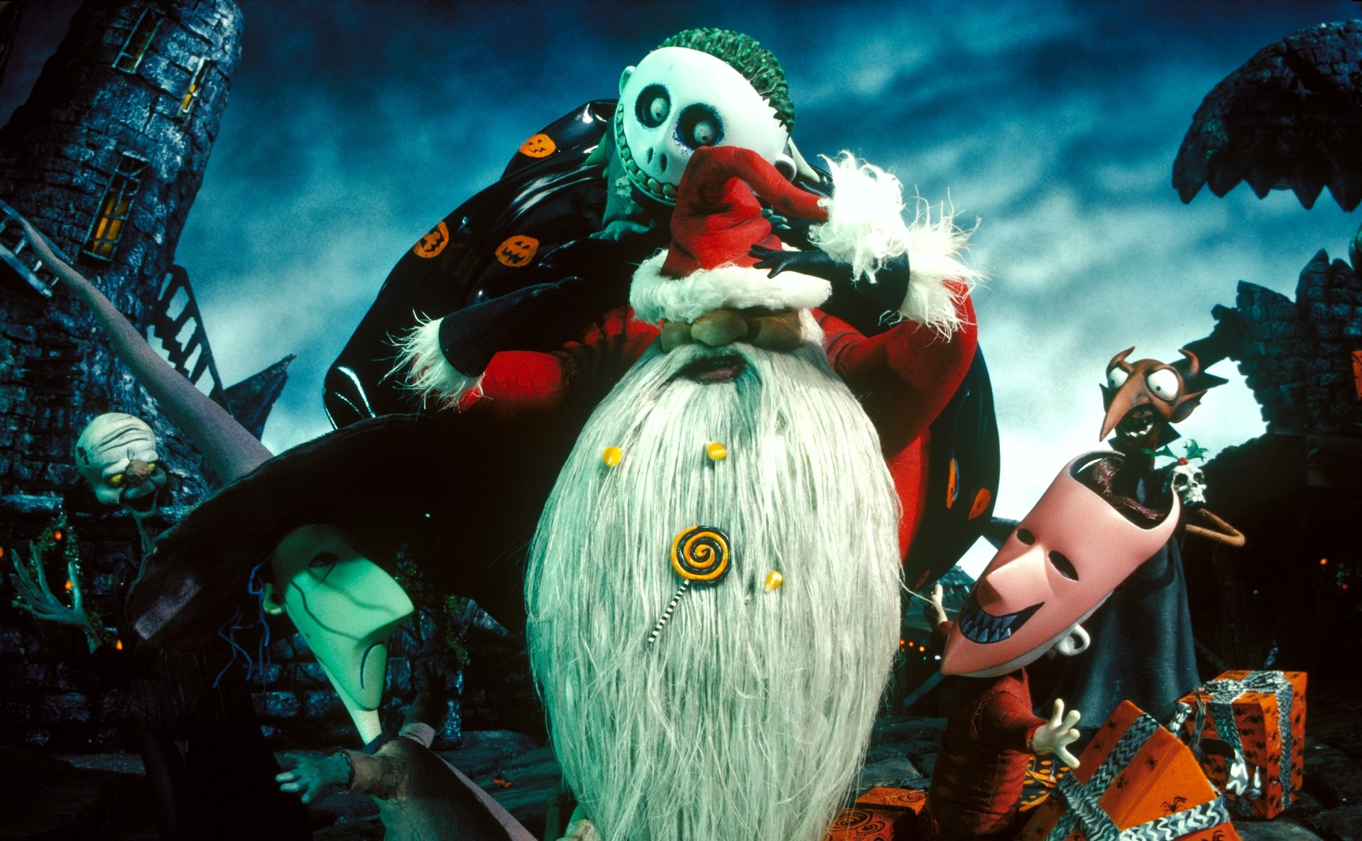 The Nightmare Before Christmas Wallpaper and Background Image ...