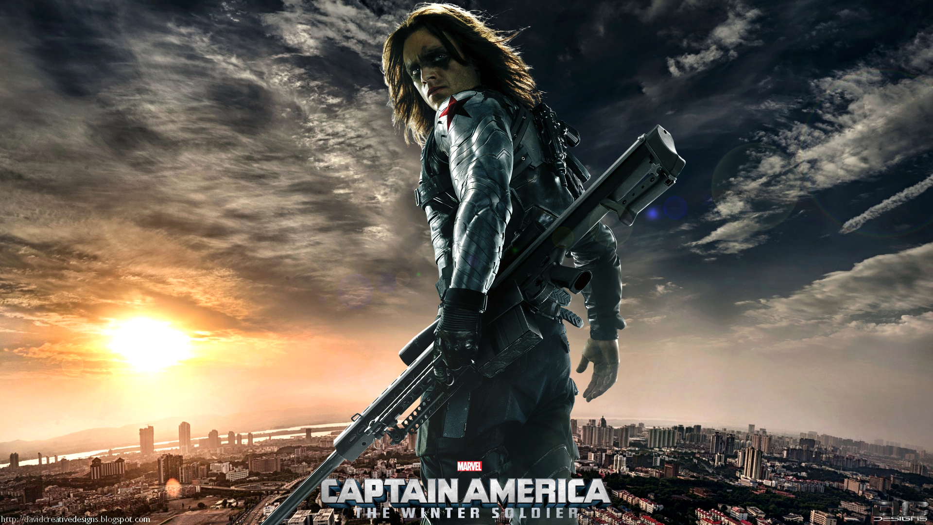 The Winter Soldier HD Wallpaper | Background Image | 1920x1080 | ID