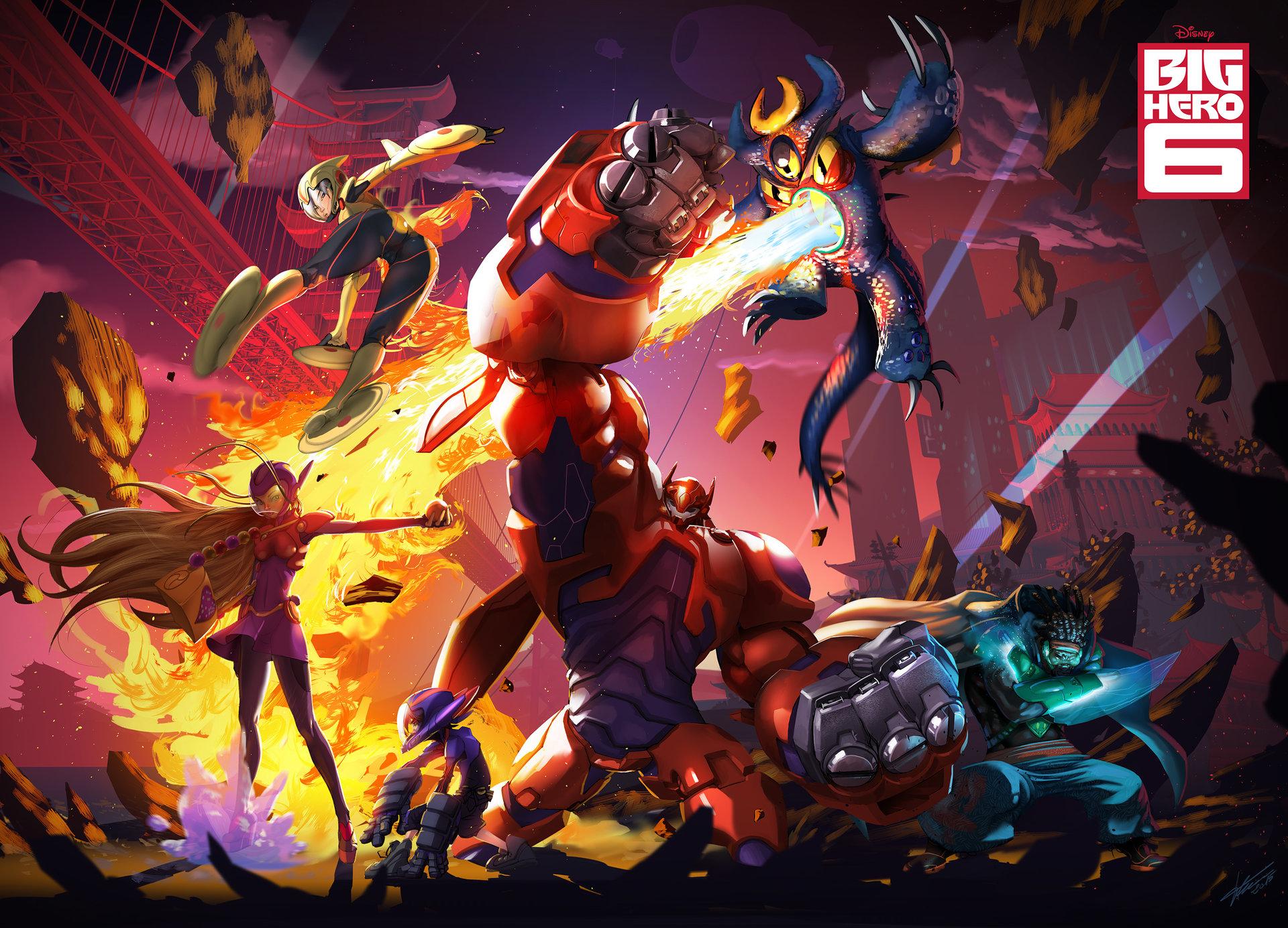 Big Hero 6 HD Wallpaper | Background Image | 1920x1385 ...