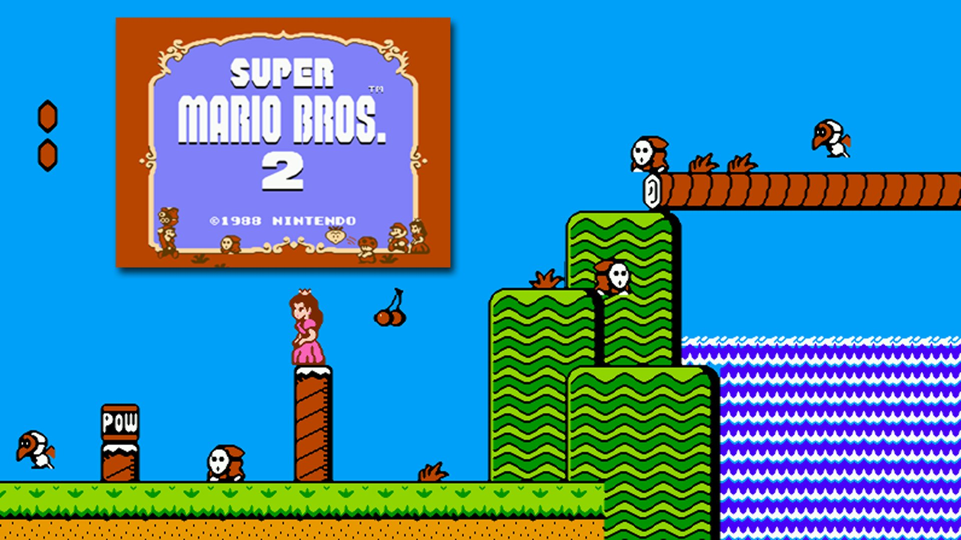 Super Mario Bros 2 Hd Wallpaper Background Image 1920x1080