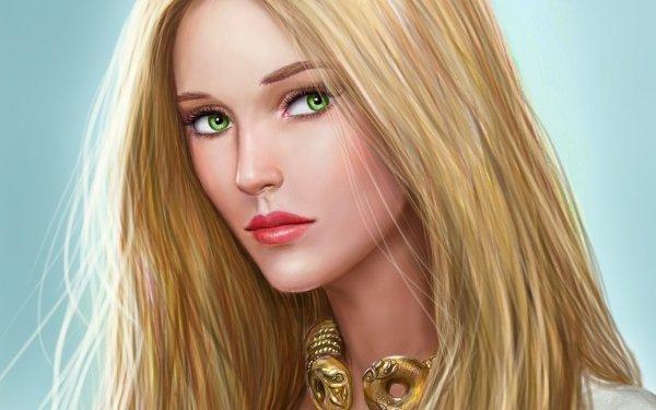 Women Artistic Blonde Celtic HD Wallpaper | Background Image