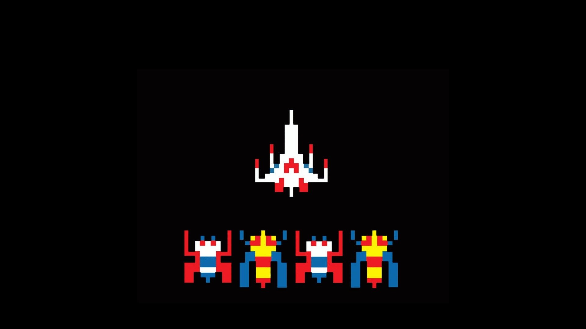galaga wallpaper iphone - photo #13