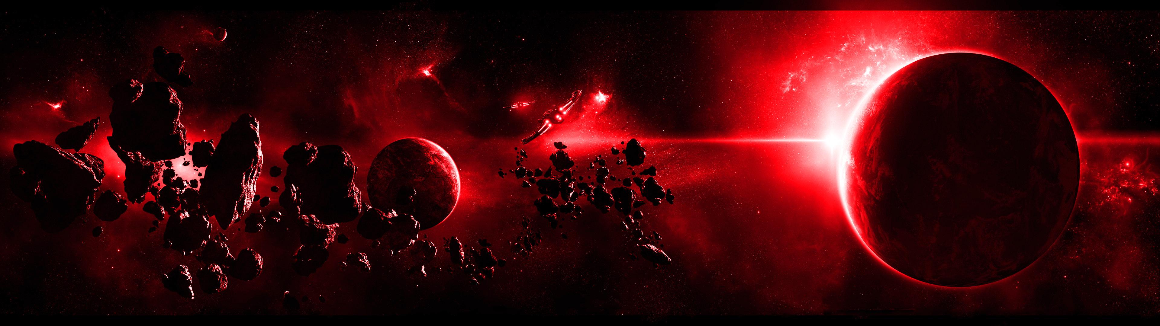 Planète Fond d'écran HD | Arrière-Plan | 3840x1080 | ID:574198 - Wallpaper Abyss