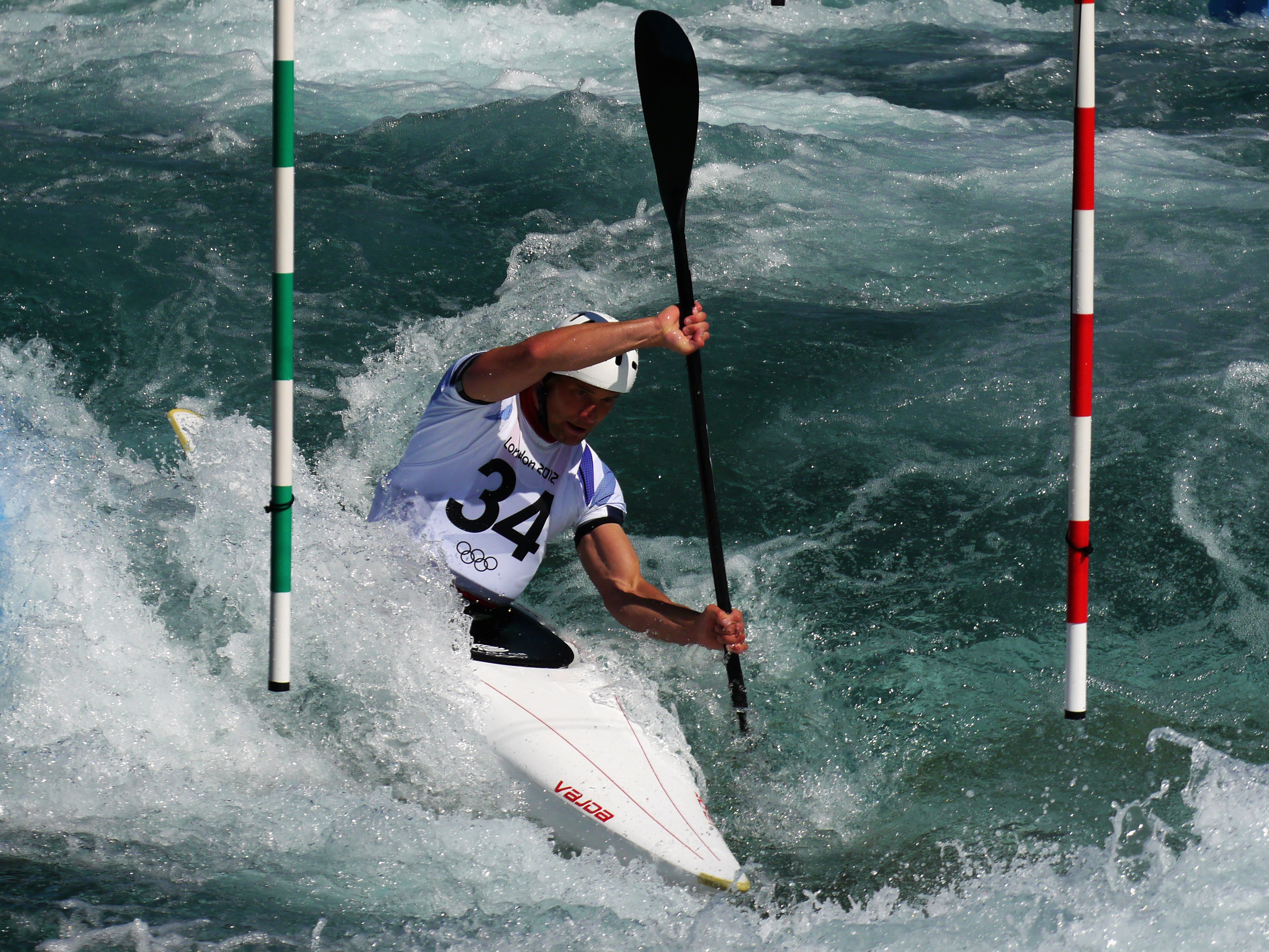 Whitewater Slalom 4k Ultra Fondo De Pantalla Hd Fondo De