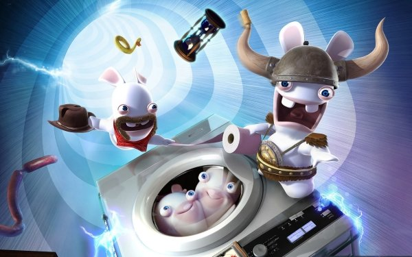Video Game Rayman Raving Rabbids Rayman HD Wallpaper   Background Image