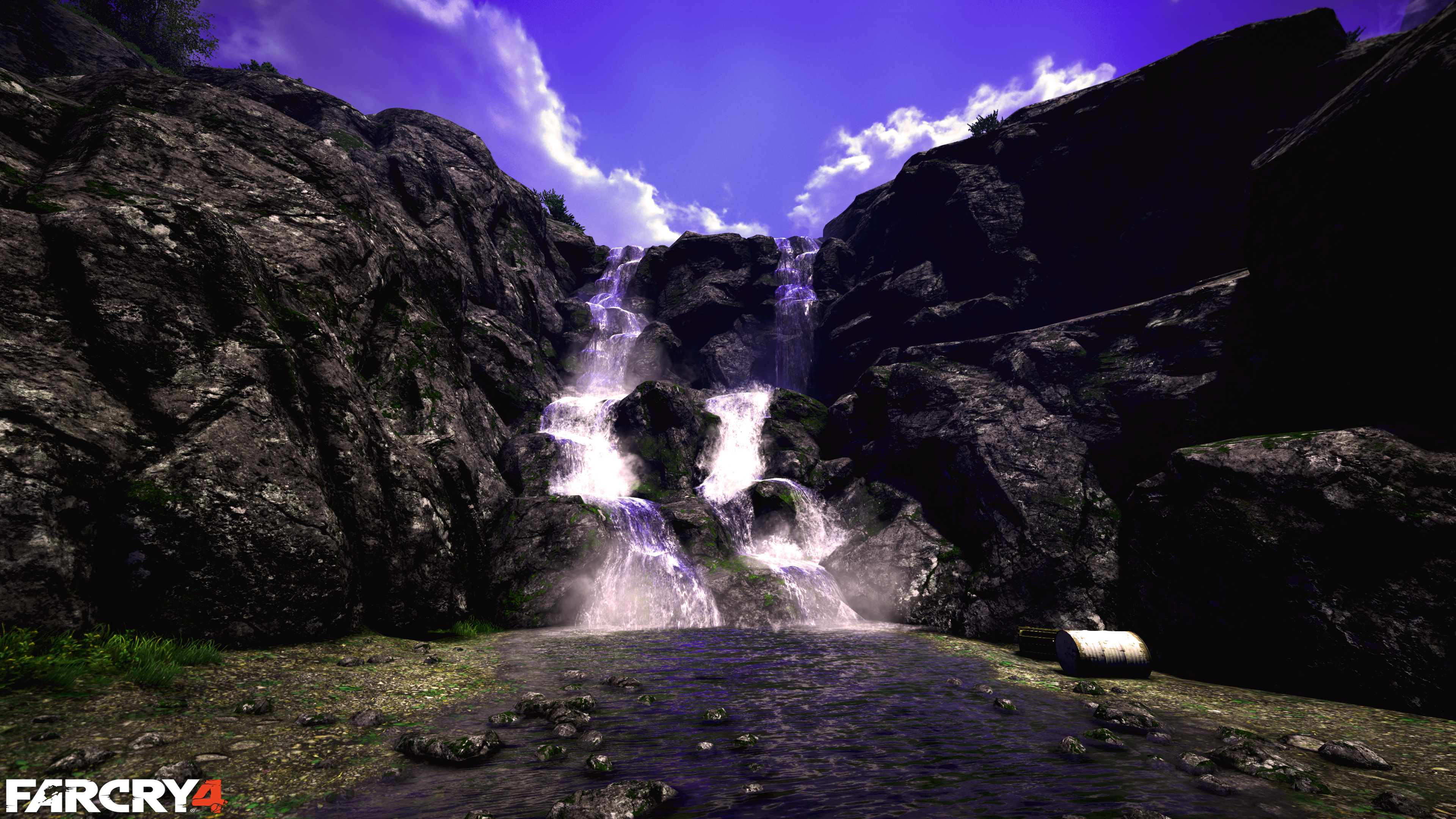 Far Cry 4 Waterfall 4k! 4k Ultra HD Papel De Parede And
