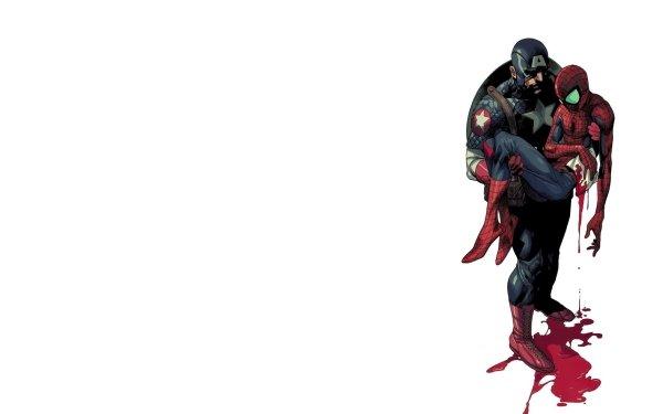 Bande-dessinées Civil War Captain America Spider-Man Fond d'écran HD | Image