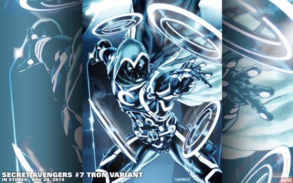 Comics Secret Avengers Caballero Luna Fondo de pantalla HD | Fondo de Escritorio