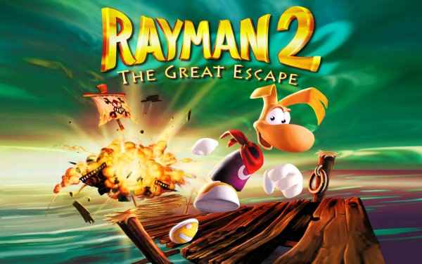 Video Game Rayman 2: The Great Escape HD Wallpaper   Background Image