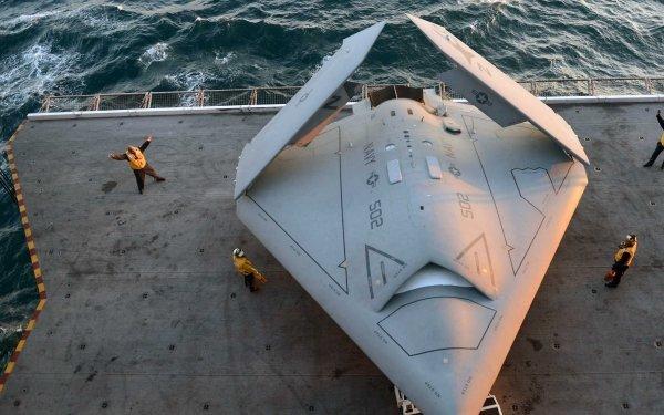 Military Northrop Grumman X-47B Military Aircraft HD Wallpaper | Background Image