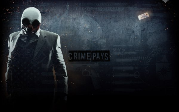 Video Game Payday 2 Payday Wolf HD Wallpaper | Background Image