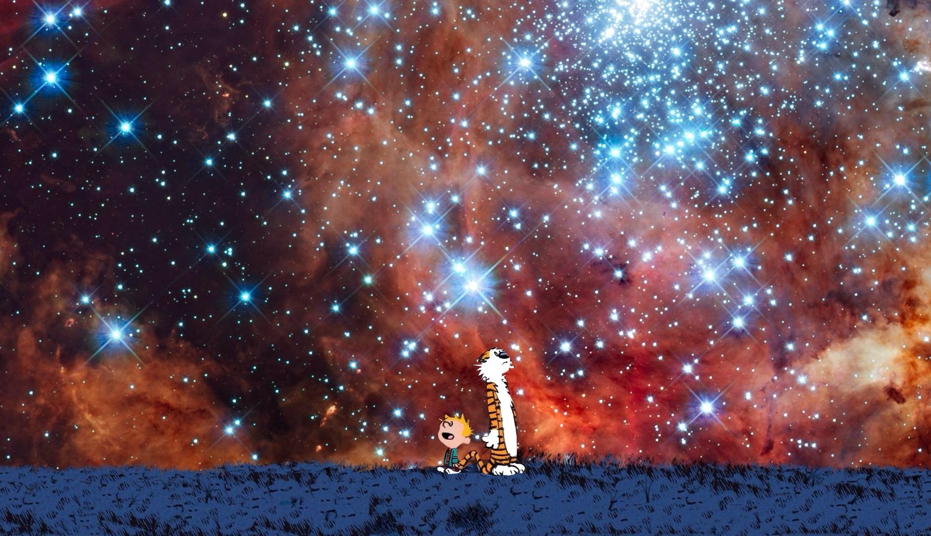 Calvin Hobbes Wallpaper And Background Image 1874x1080 Id