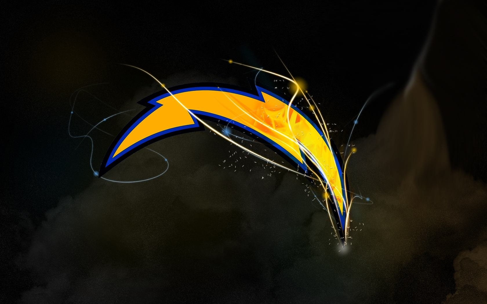 Los angeles chargers wallpaper and background image 1680x1050 id sports los angeles chargers wallpaper voltagebd Images