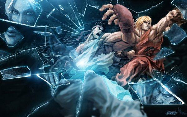 Video Game Street Fighter X Tekken Street Fighter Ryu Ken Masters Nina Williams Kasuya Mishima HD Wallpaper | Background Image